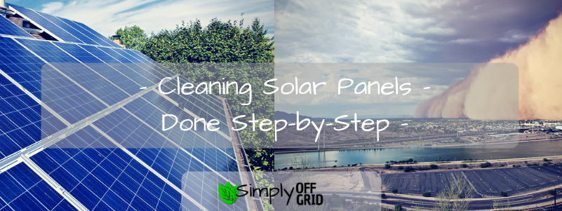 here's how to clean solar panels