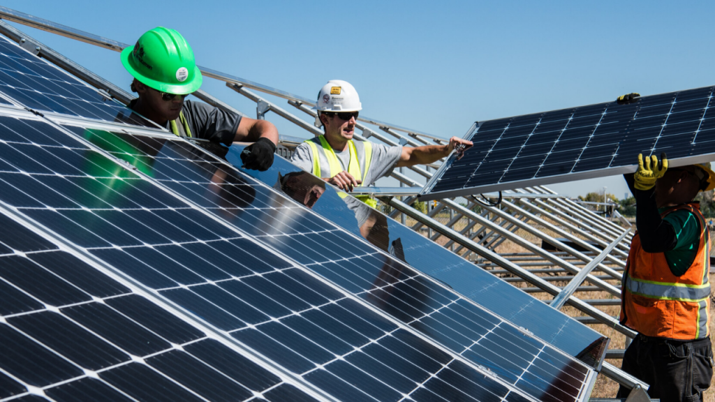 step by step how to install solar panel